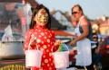 Na Lunárním festivalu byl k vidění třeba Lví tanec