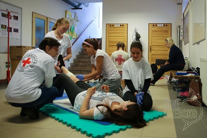 Mladí zdravotníci soutěžili o postup do regionálního kola