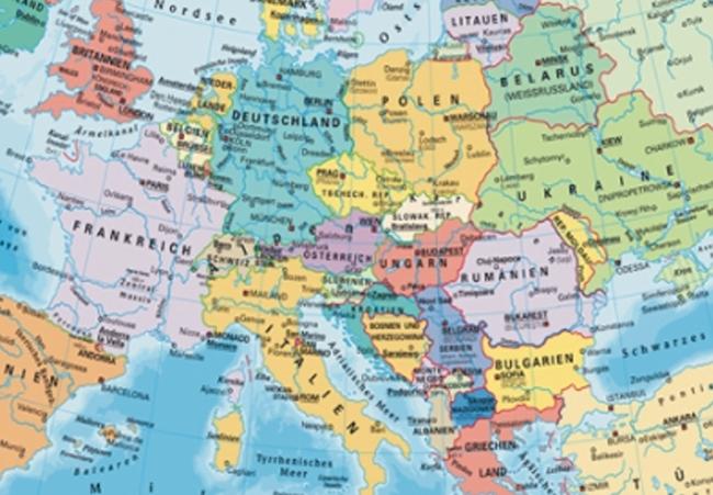 Evropa na web