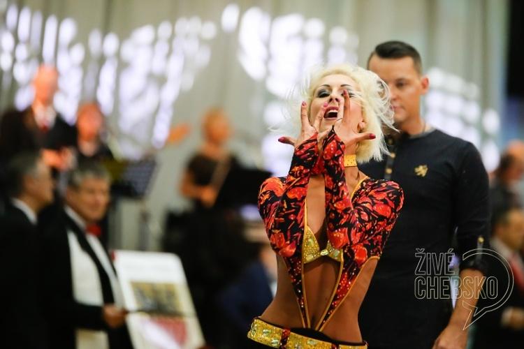 Cheb hostil mezinárodní taneční soutěž Grand Prix