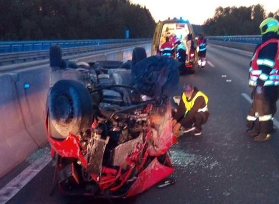 nehoda D6 2