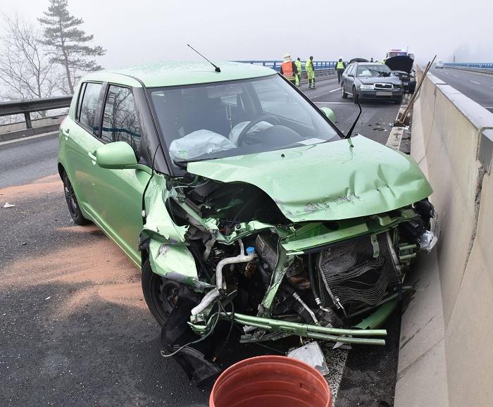 Hromadná nehoda 1