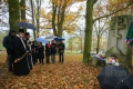 Na vojenském hřbitově v Podhradu si připomněli památku zesnulých vojínů
