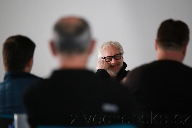 Chebský workshop s fotografem Robertem Vanem