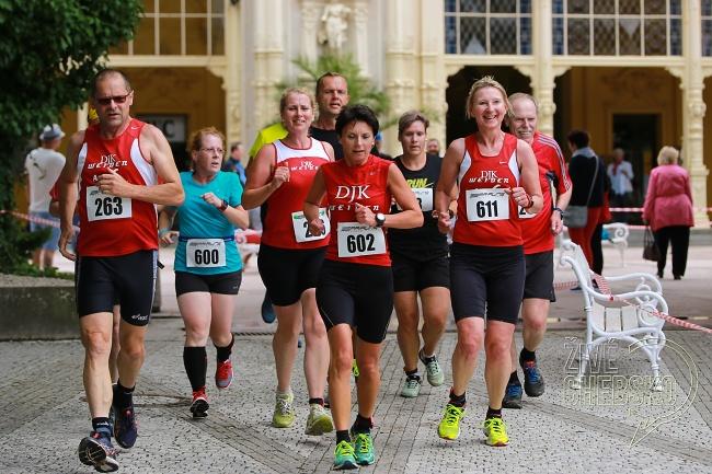 Na start pátého ročníku SpaRun se postavilo 160 běžců