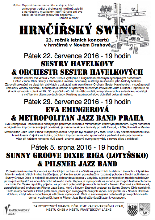 Hrnčířský swing program
