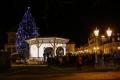 Ve Františkových Lázních rozsvítili vánoční strom
