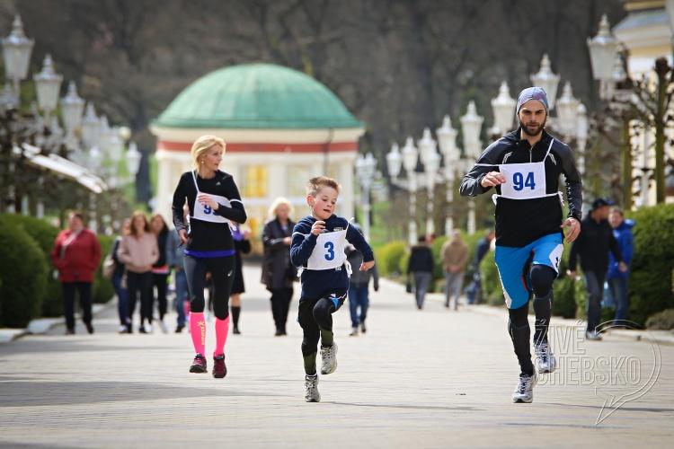 Běžecký závod ve Františkových Lázních přilákal sportovce všech věkových kategorií