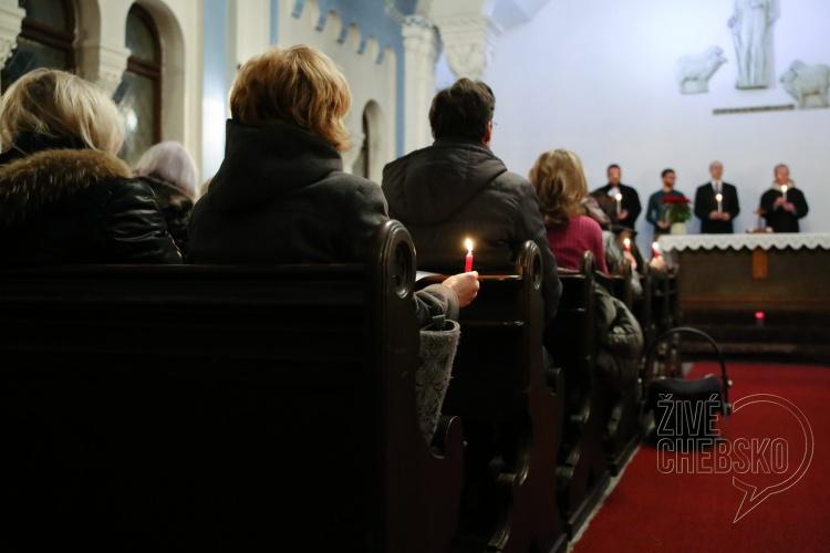 Křesťané v Chebu poděkovali za společné dobré dílo a poprosili o vzájemné smíření