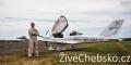 Chebské letiště se otevřelo veřejnosti