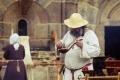 Chebský hrad ožil válečníky i starými řemesly