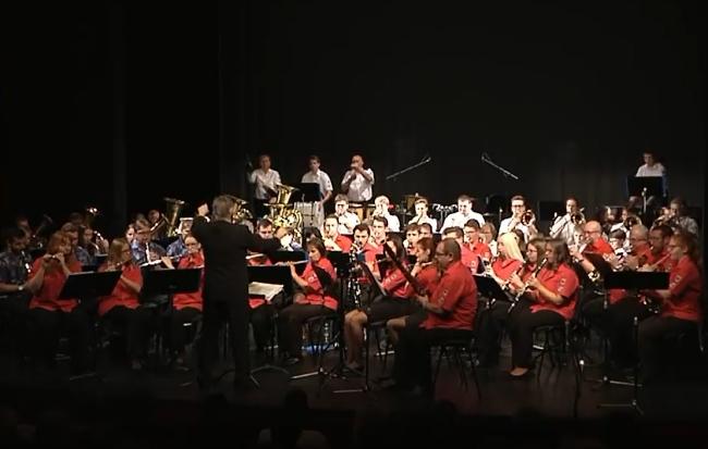 Dechový orchest mladých koncert Cheb