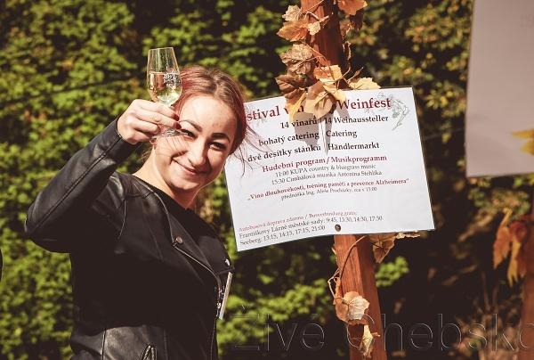 Hrad Seeberg hostil Festival vína