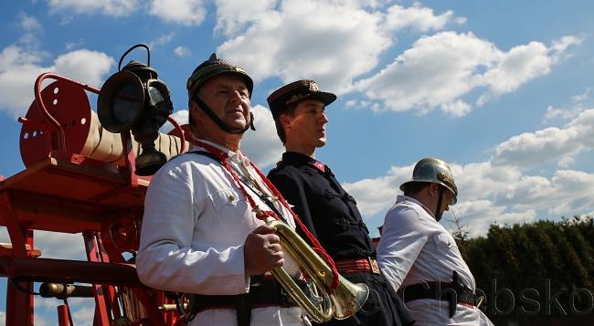 Hasiči v Sadově slavili