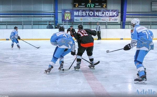 Hokej Cheb Nejdek listopad