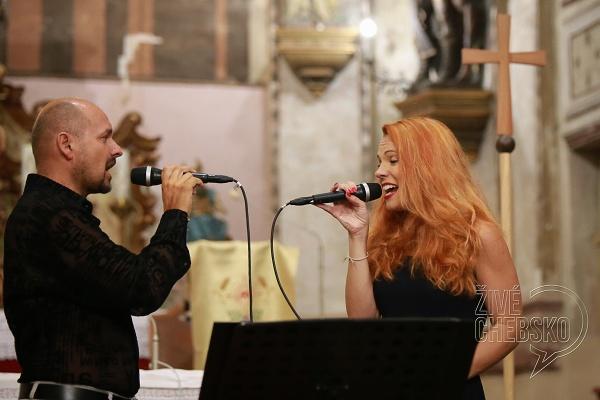 Kostelem svatého Jana Křtitele ve Skalné zněly muzikálové a filmové melodie