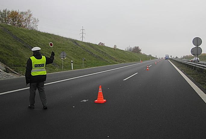 Autor: Policie ČR.   Na R6 proběhla kontrola rychlosti