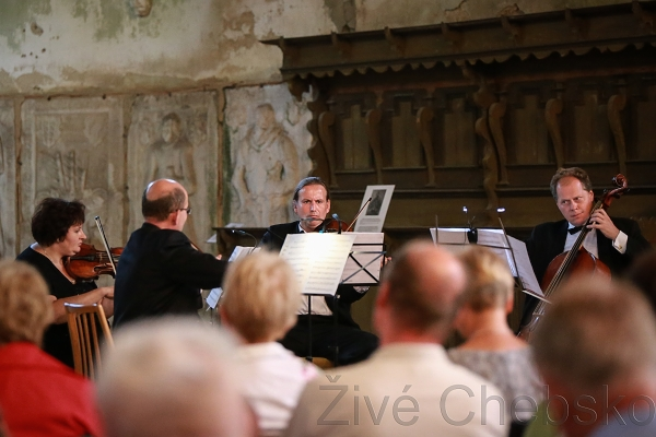 Vkostele svatého Wolfganga si návštěvníci vychutnali hudbu starých mistrů