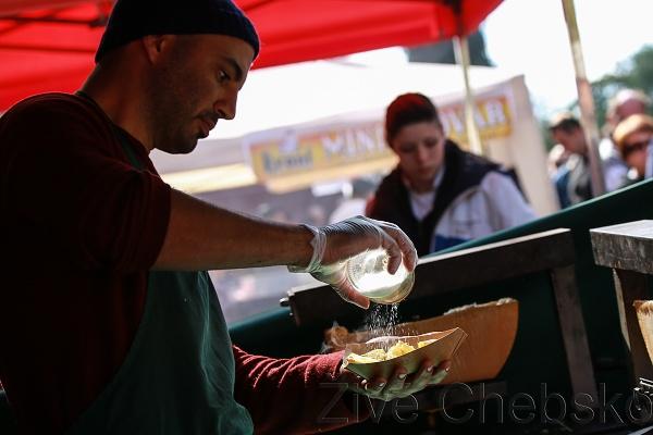 Mariánskolázeňský Food Festival nabídl nepřeberné množství chutí