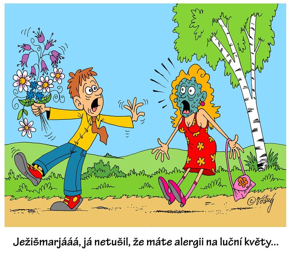 Vtip M. Vostrý květěn