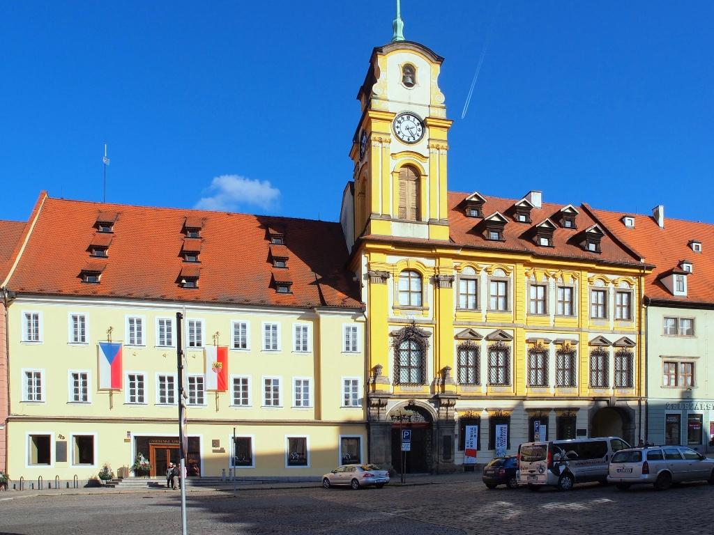 Chebská radnice.