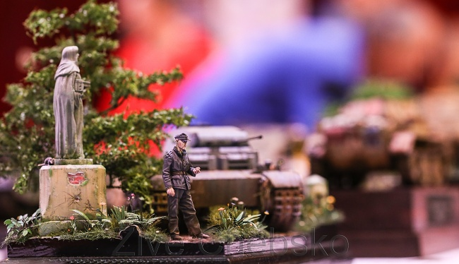V chebské Svobodě si návštěvníci prohlédli i wargamingové modely