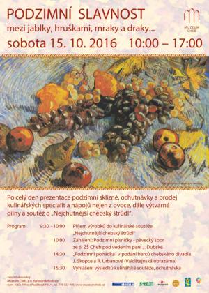 muzeum podzimní slavnost