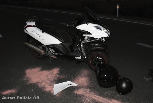 motorky nehoda