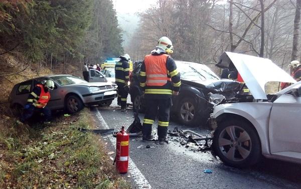 nehoda Kraslice listopad 2