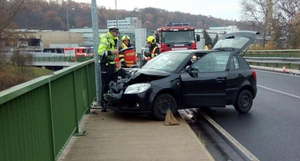 nehoda Sokolov 11. listopadu 2