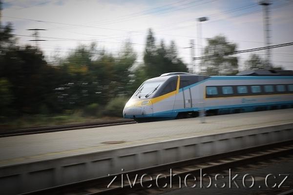 železnice dráhy pendolino