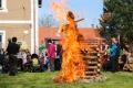 Pomezští pálili čarodějnici a stavěli májku