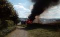 U Podhradu shořel traktor i pole - foto: Jarek Gardon