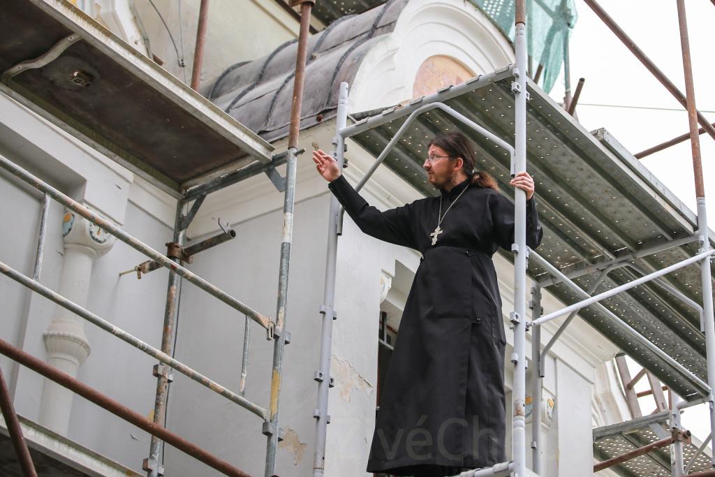 Začala rekonstrukce chrámu svaté Olgy