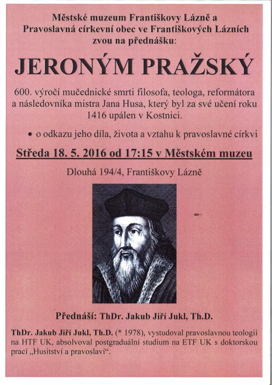 2016_05_18 - Jeroným Pražský - přednáška