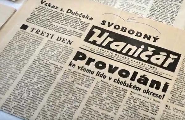 retromuseum Cheb srpen 1968