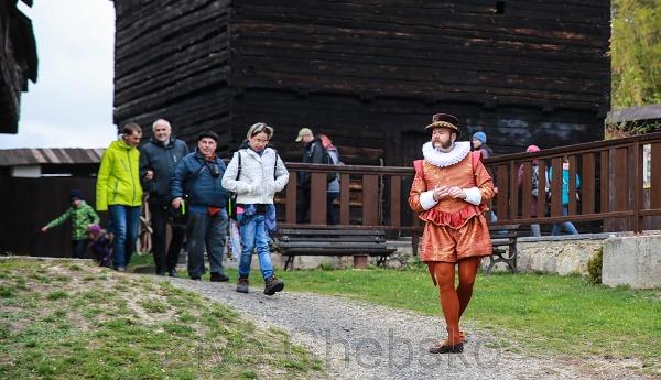 Hrad Seeberg nabídl zajímavá setkání a netradiční prohlídku hradu
