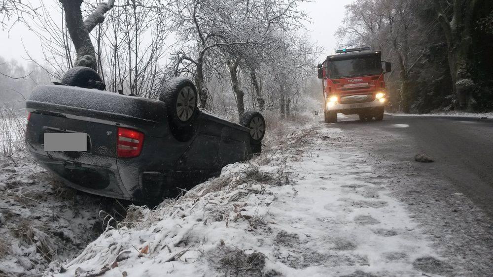 Sníh nehoda