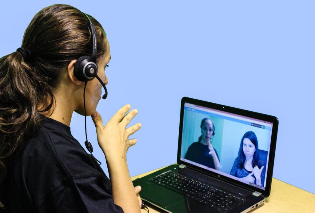 ředite Tichá linka - online tlumočení
