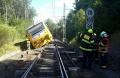 Hasiči-Kynžvart-vlak-nehoda