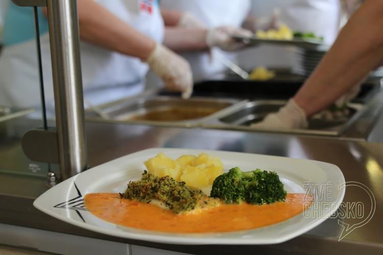 Ve františkolázeňské škole se vařily norské speciality