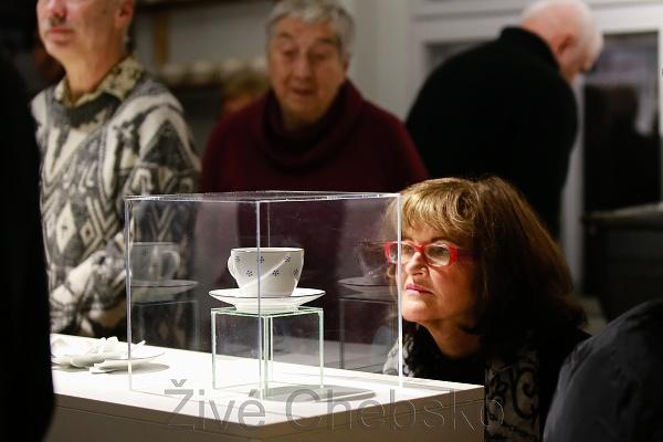 Výstava porcelán 2