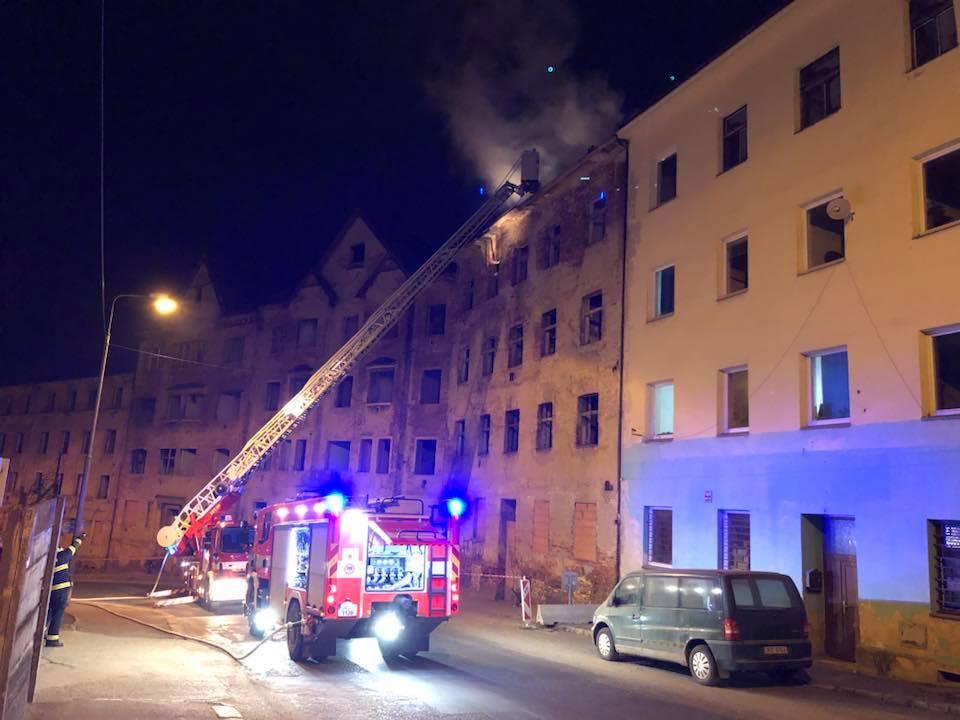 Požár Wolkerka březen
