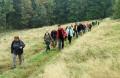 Účastníci zamykání lesa - foto: Jiří Pošmura