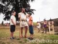 Gladiátoři a římští bojovníci obsadili o víkendu Chebský hrad