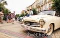 Karlovarská Sanssouci Veteran Rallye zavítala do Františkových Lázní