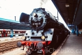 Parní lokomotiva potěšila fanoušky železnice