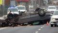 Nehoda u Jesenické přehrady - Foto: Milan Daněk