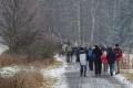 Novoroční výstup na Zelenou horu přilákal stovky lidí