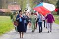 Prvomájové oslavy v Novém Kostele vrátily návštěvníky do minulosti
